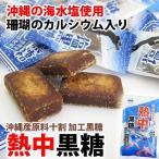 沖縄黒糖 熱中黒糖 120g×1袋 個包装 黒糖本舗 垣乃花 沖縄