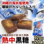 沖縄黒糖 熱中黒糖 120g×20袋 個包装 黒糖本舗 垣乃花 沖縄