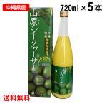 ショッピング沖縄 沖縄県産果汁100% 山原シークワーサー720ml 5本セット
