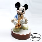 ディズニー  レースドール ミッキーマウス オルゴール サックス(カラー) [H17cm]