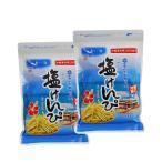 沖縄限定 青い海 塩けんぴ ×2袋 送料無料 (クリックポスト配送)