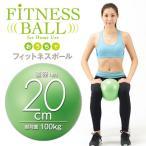 体幹トレーニングにオススメ おうちでフィットネスボール 20cm