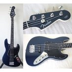 フェンダー ベース bass Fender Japan Medium Scale Aerodyne Jazz Bass AJB-M Blue Electric Bass (Japan Import) 正規輸入品