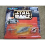 スターウォーズ フィギアStar Wars Micro Machines IX: B-wing Starfighter, Super Star Destroyer Executor, A-wing Starfighter 正規輸入品