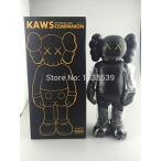 アイアンマン フィギア2016 16 Inch Original fake KAWS Dissected Companion Action Figures model With Original Box (Black) 正規輸入品