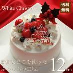 クリスマスケーキ 2017 予約 人気 ホワイトクリスマス 12cm カトルフィユ 広島