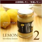 塩レモン 生塩レモン 140g 2本セット とびしま柑橘倶楽部 広島 広島レモン 国産レモン