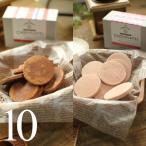 バレンタイン チョコ チョコレート ギフト 生チョコクッキー ひろしまショコラッティ 2種セット(ビター&いちご) 10枚入り ハーベストタイム 広島 (VD)