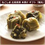 ねこしまの広島菜漬(本漬・古漬け) 陽光 250g×5本セット 猫島商店 漬物 ギフト