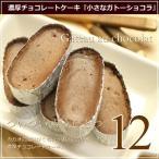 チョコレートケーキ 小さなガトーショコラ 12個入り スイーツ ギフト