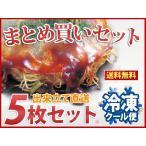 広島お好み焼き(イカ天入) 300g 5枚セット(簡易包