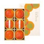 奈良県西吉野産 完熟富有柿 3L大玉サイズ2kg(6玉) 低農薬栽培