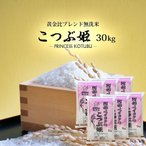 無洗米 30kg (5kg×6) 格安ブレンド米 こつぶ姫 お米