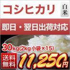 お米30kg 香川産コシヒカリ 30kg 2kg×15袋 平成27年 2015年