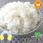 新米 30kg 玄米 あきたこまち 滋賀県東近江産 大橋忠喜 令和元年産 送料無料