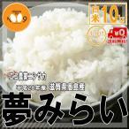 米 10kg(5kg×2) 白米 送料無料 夢みらい 28年産 滋賀県高島産  エコ農業ニシサカ