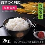 米 お試し米 2kg お米 コシヒカリ 白米 茨城県産 令和元年産 1年産 送料無料