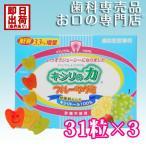 キシリの力 フルーツグミ 124g(31粒)×3箱