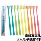 歯科専売品 大人用 歯ブラシ ×10本 メール便送料無料【日本製】Shu Shu α(シュシュアルファ)