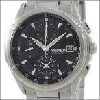 【レビューを書いて10年保証】WIRED ワイアード SEIKO セイコー 腕時計 AGBV139 メンズ クロノグラフ