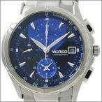 【レビューを書いて10年保証】WIRED ワイアード SEIKO セイコー 腕時計 AGBV141 メンズ クロノグラフ