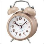 NOA ノア精密 クロック FEA170-IV-Z 目覚まし時計 置時計 Felio フェリオ ツインベルクロック タルト アイボリー