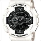 ショッピングShock 海外CASIO 海外カシオ 腕時計 GA-110GW-7A メンズ G-SHOCK ジーショック White and Black Series ホワイトアンドブラックシリーズ