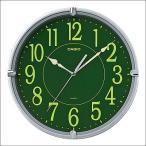 CASIO カシオ クロック IQ-56SA-8JF 掛時計 壁掛け スムーズ秒針 メタリックシルバー