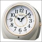 SEIKO セイコー クロック KR888S 自動点灯 目覚まし時計 置時計 SILVER シルバー
