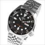 【正規品】海外SEIKO 海外セイコー 腕時計 SKX007K2 メンズ オートマチック 自動巻き シルバー/ブラック