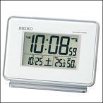 SEIKO セイコー クロック SQ767W 目覚まし時計 電波時計