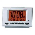 SEIKO セイコー クロック SQ780S 置時計 デジタル時計 電波