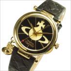 ショッピングWestwood Vivienne Westwood ヴィヴィアンウエストウッド 腕時計 VV006BKGD レディース Orb オーブ BLACK×GOLD ブラック×ゴールド