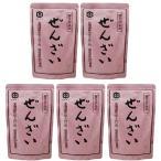 【お買い得】泉万醸造 甘さ控えめぜんざい 北海道産小豆使用 180g×5個
