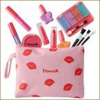 TOKIA Kids Makeup Kit for Girl, Washable Non-Toxic Little Girl Makeup Set with Cosmetic Bag【並行輸入品】