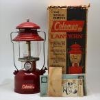 コールマン 200A ランタン バーガンディー 1961年12月製 箱付き・ペーパー類付きのミント品