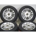 新品タイヤセット 195/65R15 冬タイヤ トーヨー ガリット GIZ 2014年製 中古 社外アルミホイール 15インチ 6.5J+45 5H-100/114.3 スタッドレス
