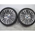中古 ホイールタイヤ2本のみ 255/35R19 2013年製 8分山程度  BMW 3シリーズ Mスポーツ 純正 19x8.5J+47 5H-120   ミシュラン パイロットスーパースポーツ