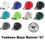 ショッピングBrand 47BRAND(フォーティセブン ブランド) YANKEES BASE RUNNER 47 キャップ 帽子