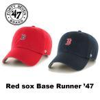 ショッピングBrand 47BRAND(フォーティセブン ブランド) Red sox BASE RUNNER 47 キャップ 帽子