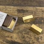BRASS(ブラス) カードスタンド ワイドS 10個入り おしゃれ アンティーク ショップカード カード立て