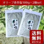 オリーブ香草塩 ハーブソルト オリーブ 100g 2袋 送料無料