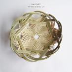日本の竹細工 蜘蛛の巣編み盛り籠 花編み 直径30cm