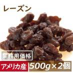 レーズン (アメリカ産) 1kg (500gx2袋)れーずん ほしぶどう 干しぶどう 業務用 グルメ