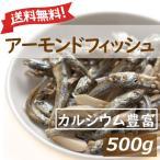ナッツ アーモンドフィッシュ ナッツ 500g 送料無料 チャック付き袋 アーモンド小魚 国産小魚 グルメ みのや