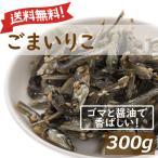 ナッツ おつまみ ごまいりこ 300g 送料無料 アーモンドフィッシュ アーモンド小魚 グルメ 1kgの約3分の1の量 みのや