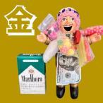 エケコ エケッコ 人形 ペルー産 Lサイズ 約18センチ オリジナル ゴールデン ゴールド