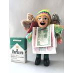 エケコ エケッコ 人形 限定 荷物 たっぷり Lサイズ 約18.5センチ グリーン