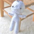 (幸運を呼ぶお守り)ホワイト ハッピードール ブドゥー人形