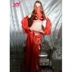ベリーダンス衣装セット赤アラビアン衣装コスプレアラビアンパンツコスチュームアラブ踊り子ダンススパンコールアラジン